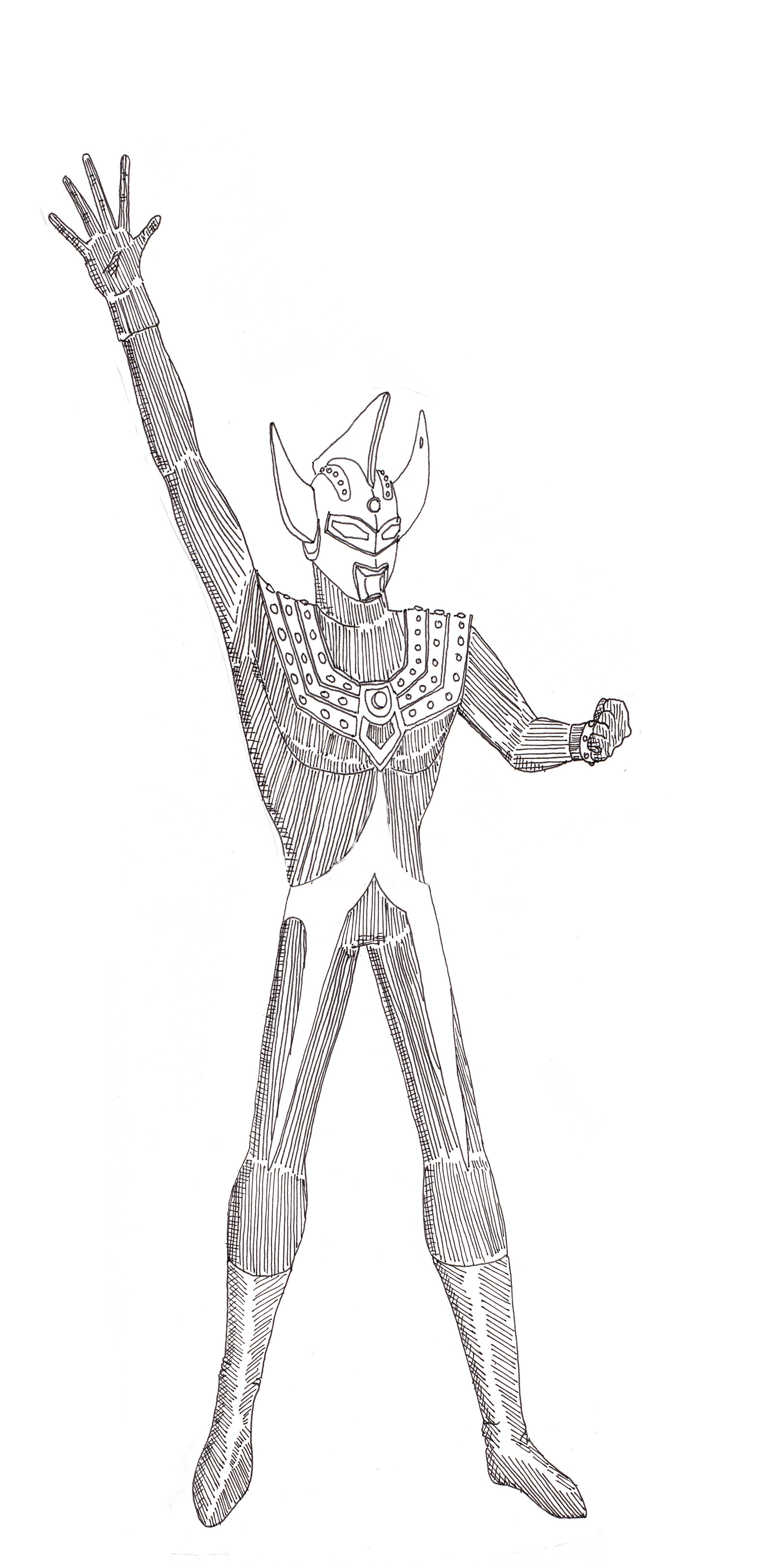 Coloring pages ultraman - Advertisements