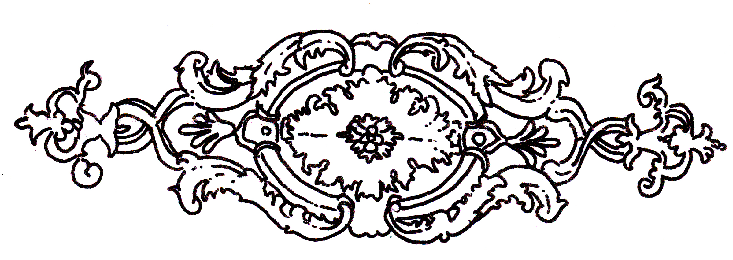 Wooden decorative scroll saw ornamental patterns pdf plans for Decorative scrollwork