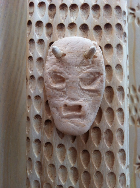 wooden devil
