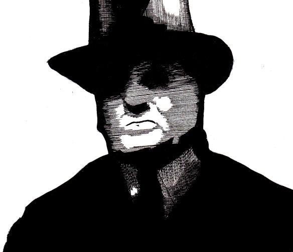 shadowy man