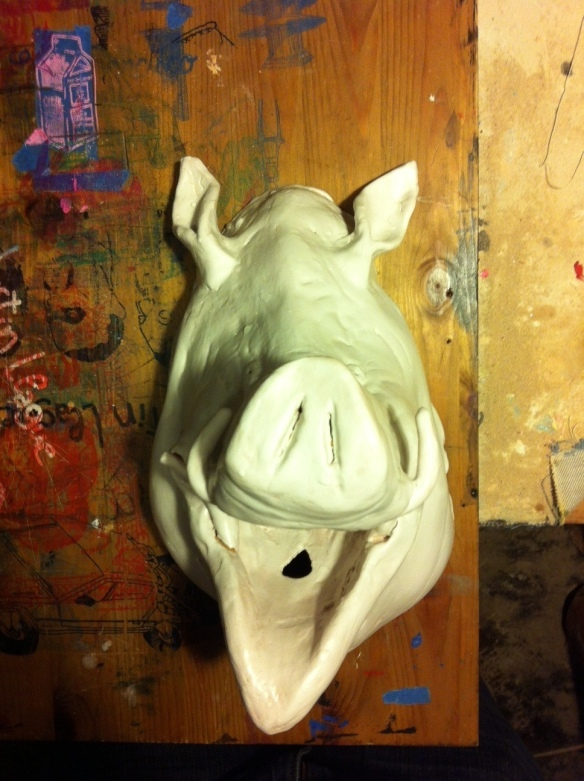ceramic boar