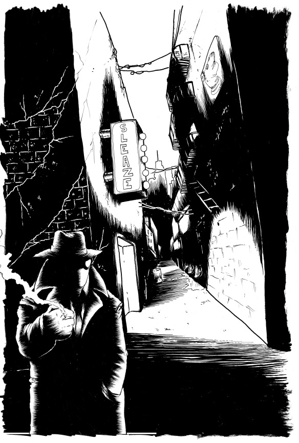 noir alley