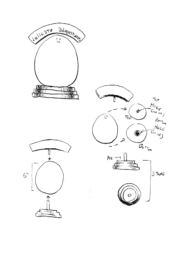 egg stand diagram
